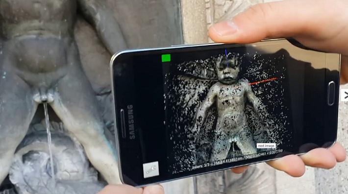 Приложение 3D сканирования для смартфонов