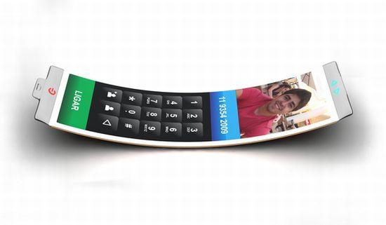 Philips Fluid смартфон с гибким дисплеем OLED