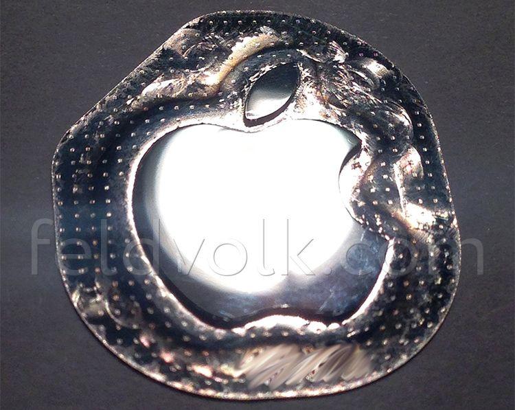 В iPhone 6, возможно, появится выпуклая камера и логотип из «жидкого металла»