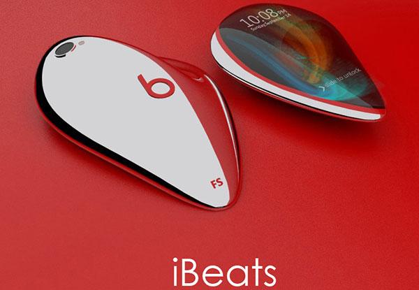 Концепт музыкального смартфона Apple iBeats