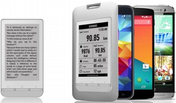 Чехол InkCase Plus превратит смартфон в е-ридер