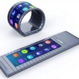 Смартфон-браслет с гибким дисплеем Moxi Group
