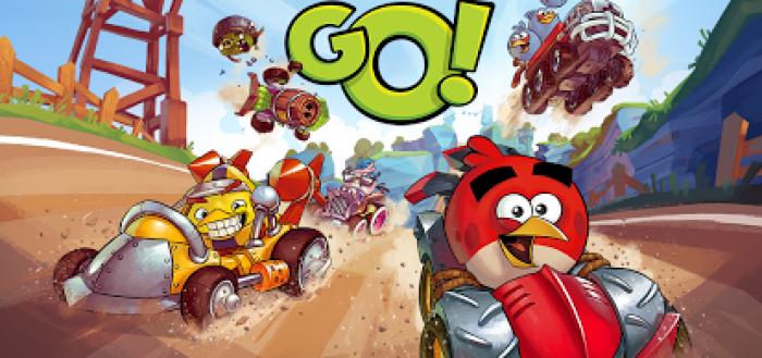 Удачи в Angry Birds GO! Птичьи гонки на картингах от Rovio.
