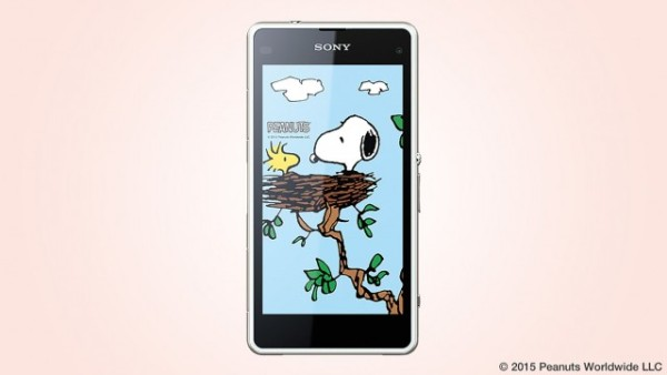 Sony показала тематический Xperia J1 Compact Snoopy Special Edition