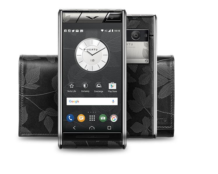 Новый уникальный смартфон Vertu Aster Leaf